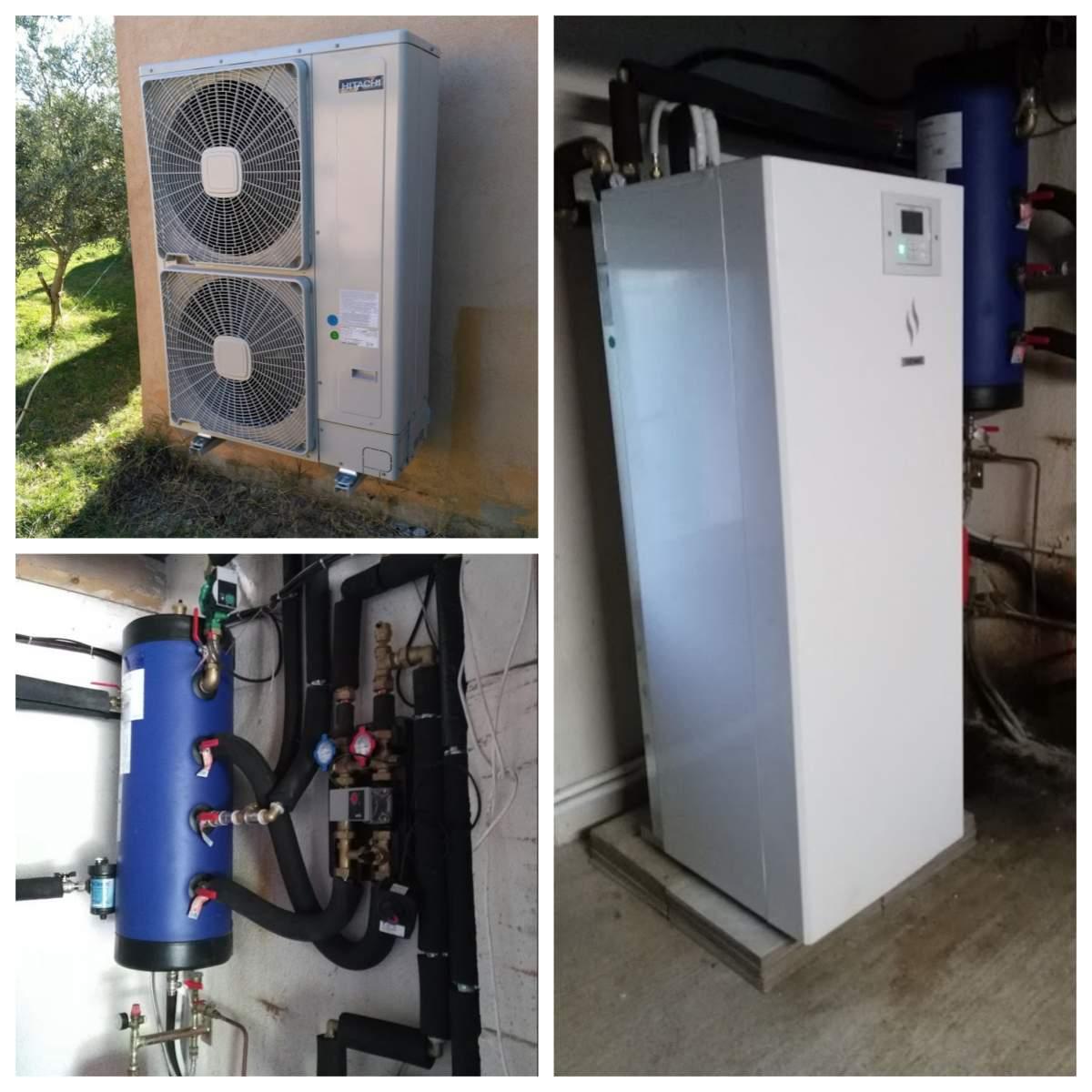 Pompe à Chaleur Mureaux → Devis/Prix : Installation PAC Air-Eau, Aerothermie
