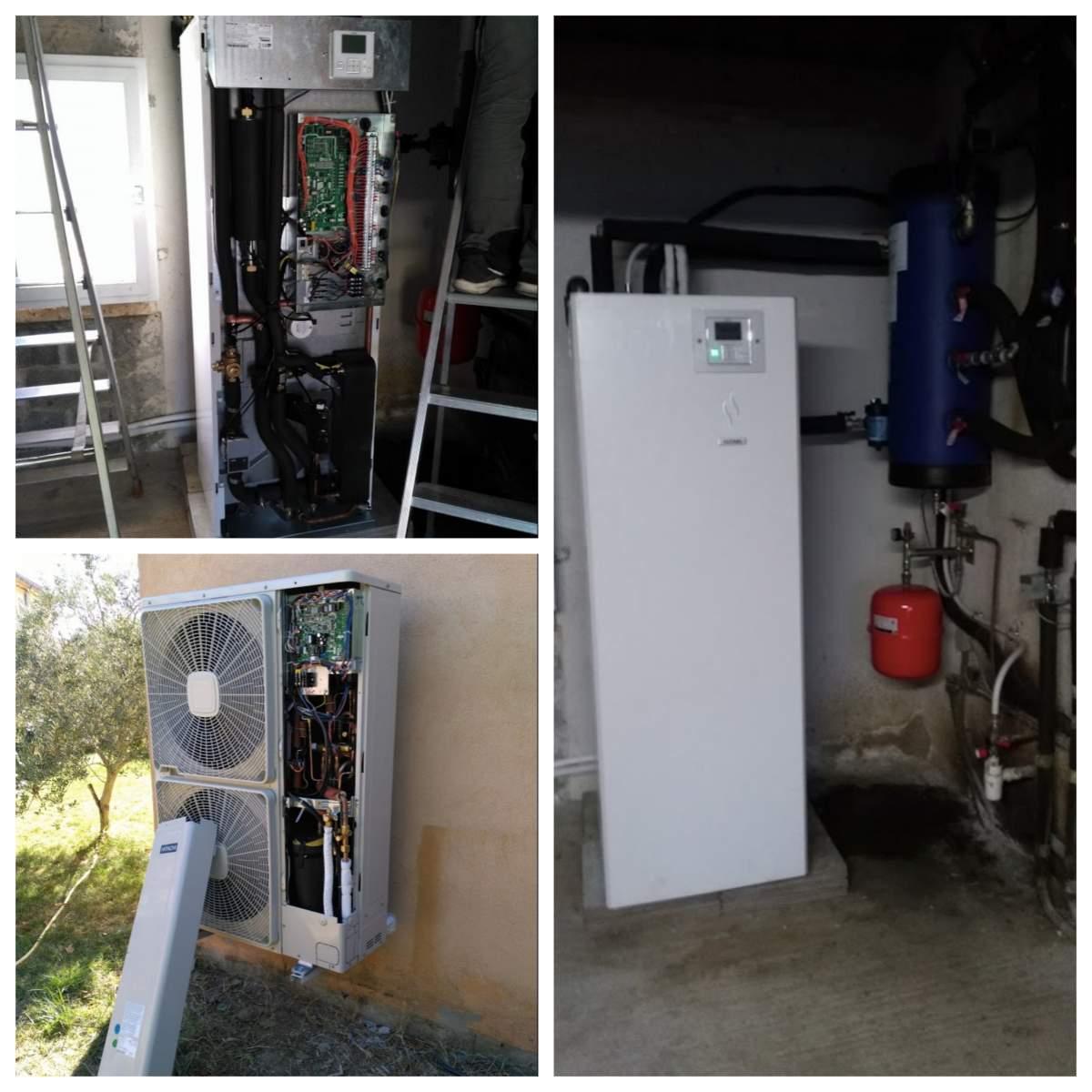 Aide remplacement chaudière fioul par pompe à chaleur